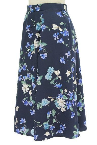 JUSGLITTY(ジャスグリッティー)の古着「膝下丈花柄フレアスカート(スカート)」大画像3へ