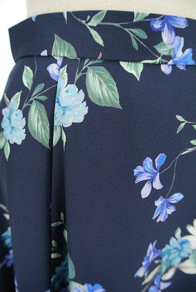 JUSGLITTY(ジャスグリッティー)の古着「膝下丈花柄フレアスカート(スカート)」大画像4へ