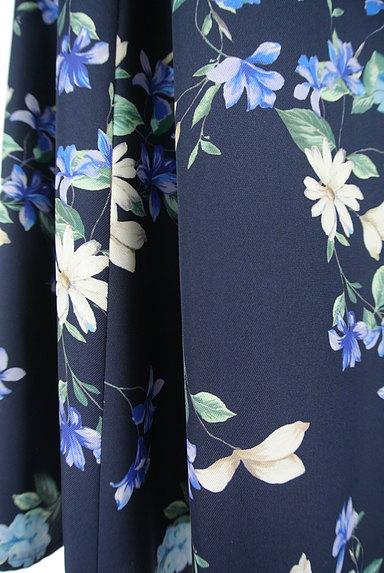 JUSGLITTY(ジャスグリッティー)の古着「膝下丈花柄フレアスカート(スカート)」大画像5へ