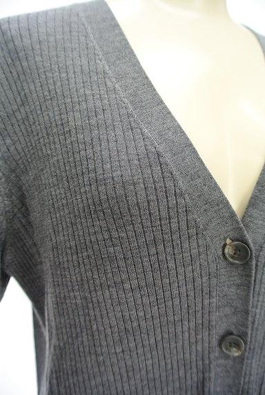 la.f...(ラエフ)の古着「サイドスリットロングリブニットカーデ(カーディガン・ボレロ)」大画像4へ