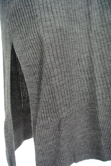 la.f...(ラエフ)の古着「サイドスリットロングリブニットカーデ(カーディガン・ボレロ)」大画像5へ