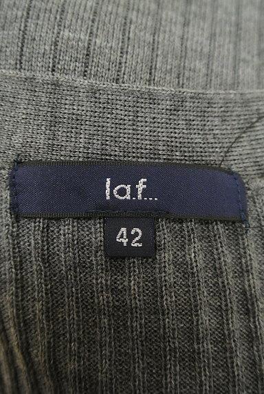 la.f...(ラエフ)の古着「サイドスリットロングリブニットカーデ(カーディガン・ボレロ)」大画像6へ