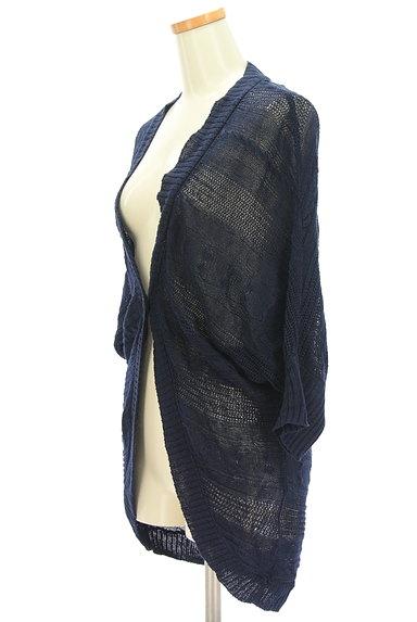 la.f...(ラエフ)の古着「透かし編みドルマンロングカーデ(カーディガン・ボレロ)」大画像3へ
