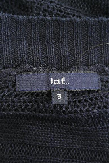 la.f...(ラエフ)の古着「透かし編みドルマンロングカーデ(カーディガン・ボレロ)」大画像6へ
