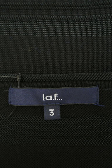 la.f...(ラエフ)の古着「ボーダー編地七分袖ロングニット(ニット)」大画像6へ