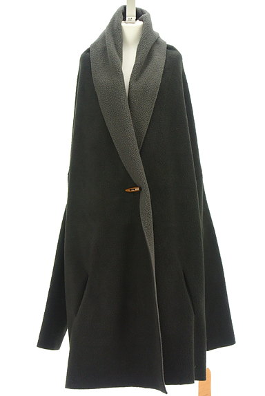 antiqua(アンティカ)の古着「ボアロングカーディガン(カーディガン・ボレロ)」大画像1へ