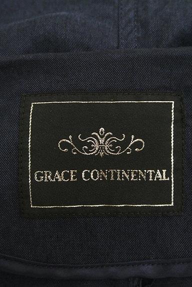GRACE CONTINENTAL(グレースコンチネンタル)の古着「フロントオープンロングブルゾン(ブルゾン・スタジャン)」大画像6へ