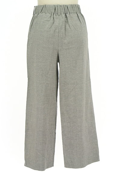 la.f...(ラエフ)の古着「ストライプ柄リネン混ワイドパンツ(パンツ)」大画像2へ