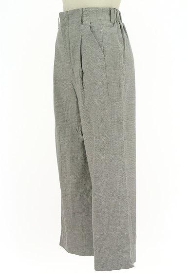 la.f...(ラエフ)の古着「ストライプ柄リネン混ワイドパンツ(パンツ)」大画像3へ