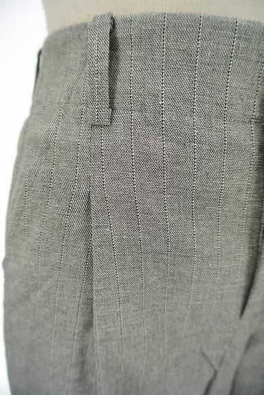 la.f...(ラエフ)の古着「ストライプ柄リネン混ワイドパンツ(パンツ)」大画像4へ