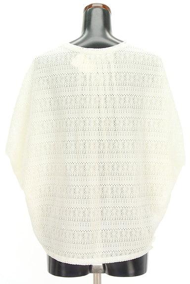 GALLARDAGALANTE(ガリャルダガランテ)の古着「透かし編みレース+シフォンカットソー(カットソー・プルオーバー)」大画像2へ