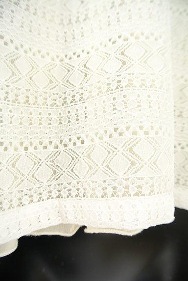 GALLARDAGALANTE(ガリャルダガランテ)の古着「透かし編みレース+シフォンカットソー(カットソー・プルオーバー)」大画像5へ
