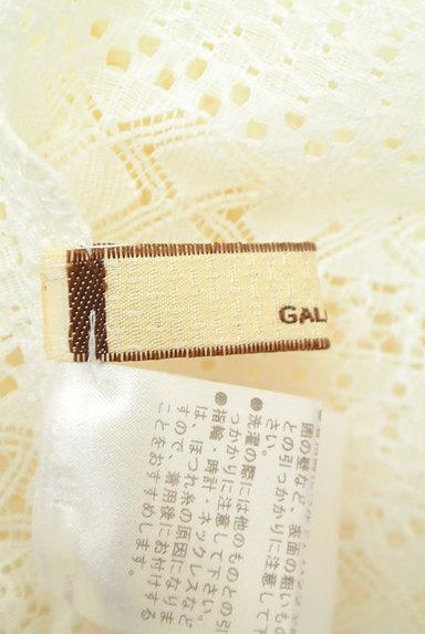 GALLARDAGALANTE(ガリャルダガランテ)の古着「透かし編みレース+シフォンカットソー(カットソー・プルオーバー)」大画像6へ