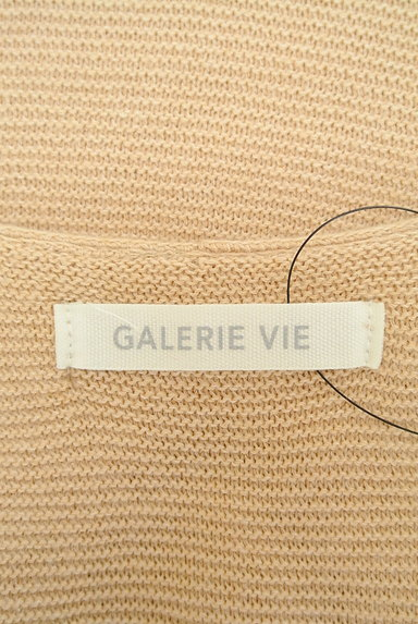 GALERIE VIE(ギャルリーヴィー)の古着「コットンリネンタック七分袖ニット(ニット)」大画像6へ