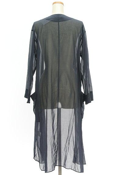 GALERIE VIE(ギャルリーヴィー)の古着「シアーロングカーディガン(カーディガン・ボレロ)」大画像2へ