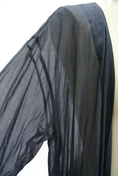 GALERIE VIE(ギャルリーヴィー)の古着「シアーロングカーディガン(カーディガン・ボレロ)」大画像4へ