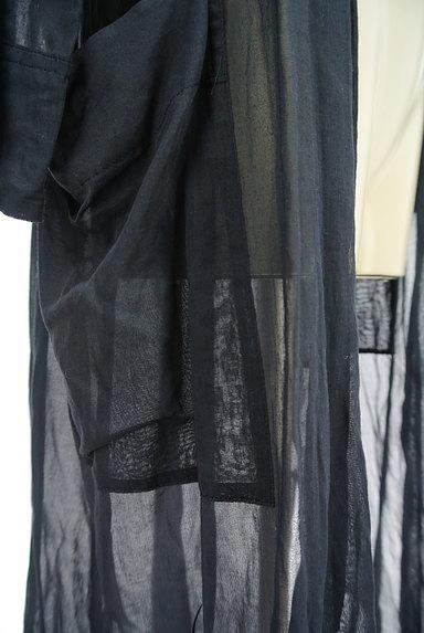 GALERIE VIE(ギャルリーヴィー)の古着「シアーロングカーディガン(カーディガン・ボレロ)」大画像5へ