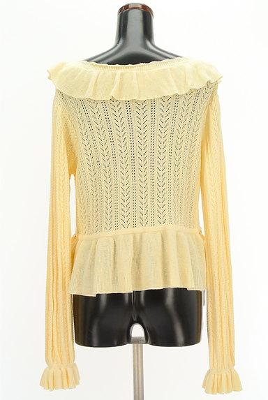 axes femme(アクシーズファム)の古着「フリル襟ペプラムカーディガン(カーディガン・ボレロ)」大画像2へ
