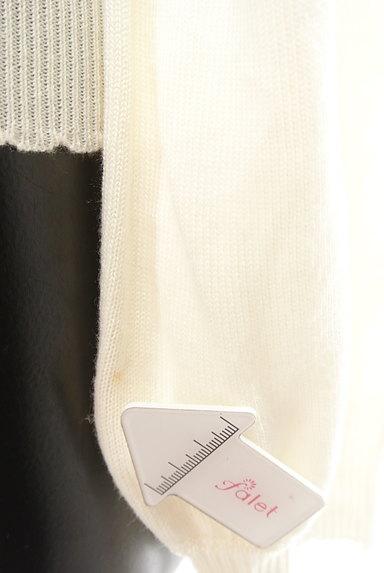 axes femme(アクシーズファム)の古着「花刺繍入りカーディガン(カーディガン・ボレロ)」大画像5へ