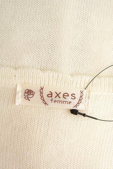 axes femme(アクシーズファム)の古着「花刺繍入りカーディガン(カーディガン・ボレロ)」大画像6へ