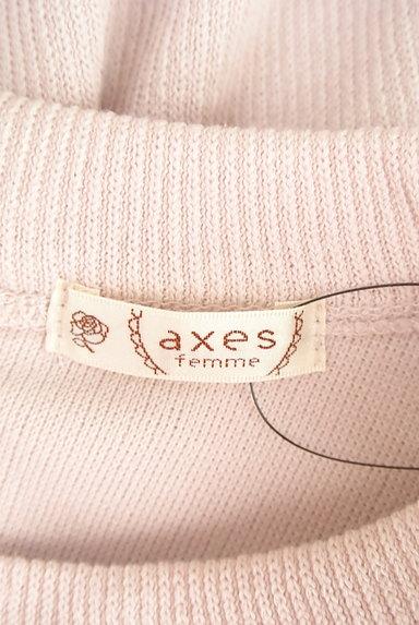 axes femme(アクシーズファム)の古着「レース袖ハイネックトップス(ニット)」大画像6へ