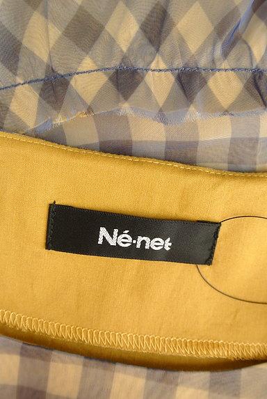 Ne-net(ネネット)の古着「フレンチスリーブペプラムカットソー(カットソー・プルオーバー)」大画像6へ