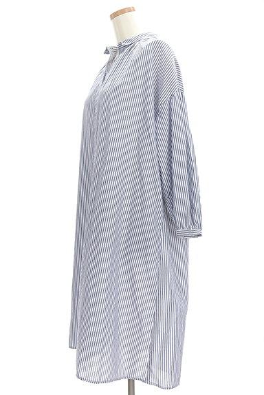 SM2(サマンサモスモス)の古着「ミモレ丈シャツワンピース(ワンピース・チュニック)」大画像3へ