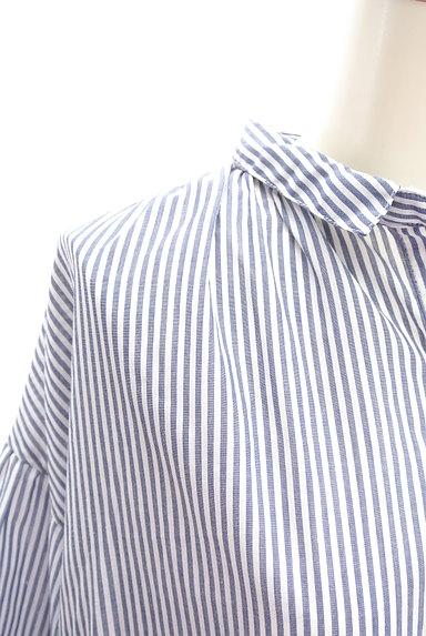 SM2(サマンサモスモス)の古着「ミモレ丈シャツワンピース(ワンピース・チュニック)」大画像4へ