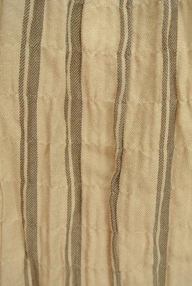 SM2(サマンサモスモス)の古着「ボリューム袖ストライプ柄ワンピース(ワンピース・チュニック)」大画像5へ