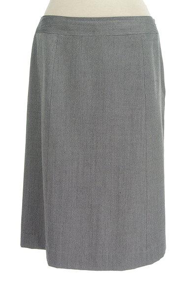 NEW YORKER(ニューヨーカー)の古着「斜めストライプ柄膝丈スカート(スカート)」大画像1へ