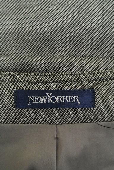 NEW YORKER(ニューヨーカー)の古着「ノーカラーペプラムジャケット(ジャケット)」大画像6へ