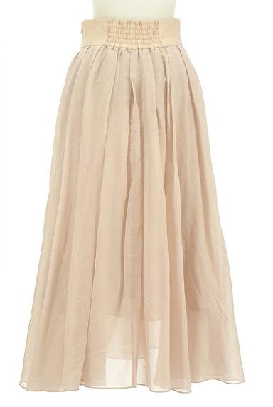 FRAY I.D(フレイアイディー)の古着「シアータックロングフレアスカート(ロングスカート・マキシスカート)」大画像2へ