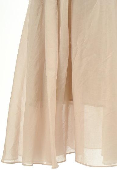 FRAY I.D(フレイアイディー)の古着「シアータックロングフレアスカート(ロングスカート・マキシスカート)」大画像5へ