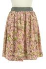 Rouge vif La cle(ルージュヴィフラクレ)の古着「スカート」前