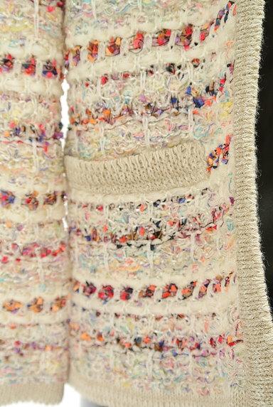 UNTITLED(アンタイトル)の古着「ラメツイードニットカーディガン(カーディガン・ボレロ)」大画像5へ