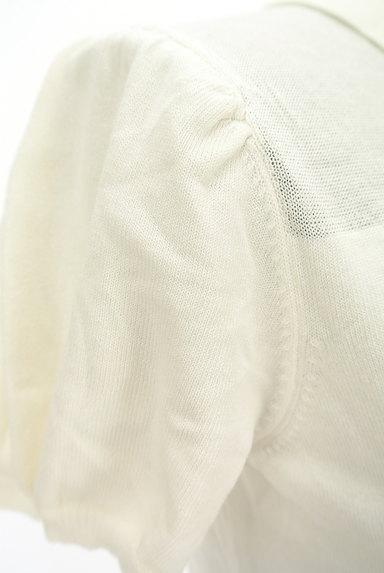 TOCCA(トッカ)の古着「パフスリーブニットポロシャツ(ポロシャツ)」大画像5へ