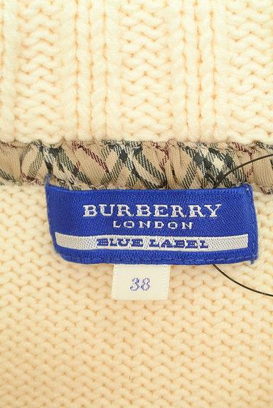BURBERRY BLUE LABEL(バーバリーブルーレーベル)の古着「フロントケーブル編みニット(ニット)」大画像6へ
