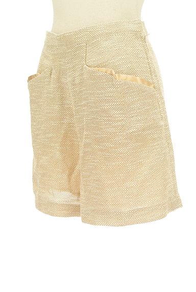 TSUMORI CHISATO(ツモリチサト)の古着「ゴールドラメショートパンツ(ショートパンツ・ハーフパンツ)」大画像3へ