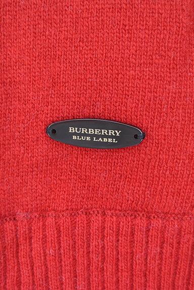 BURBERRY BLUE LABEL(バーバリーブルーレーベル)の古着「バックリボン7分袖ケーブルニット(ニット)」大画像5へ