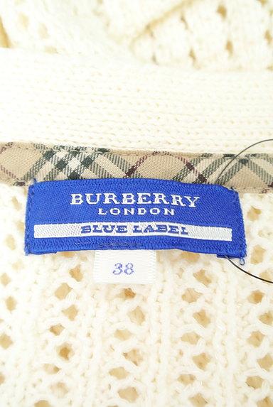 BURBERRY BLUE LABEL(バーバリーブルーレーベル)の古着「ローゲージニットカーディガン(カーディガン・ボレロ)」大画像6へ
