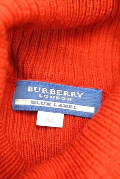 BURBERRY BLUE LABEL(バーバリーブルーレーベル)の古着「ロゴ刺繍タートルネックリブニット(ニット)」大画像6へ