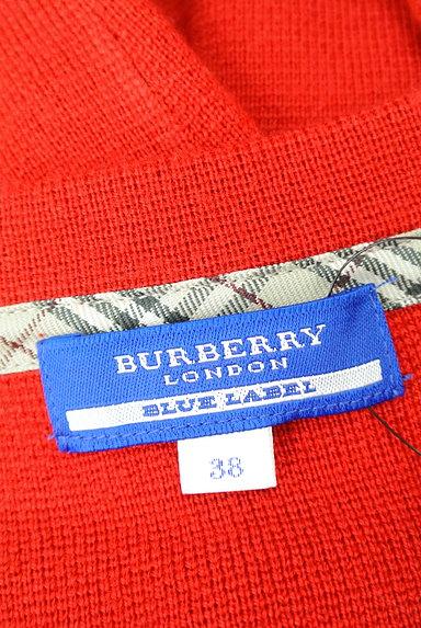 BURBERRY BLUE LABEL(バーバリーブルーレーベル)の古着「肩バックルボートネックニット(ニット)」大画像6へ