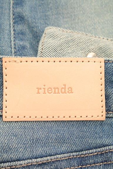 rienda(リエンダ)の古着「美ラインスリムデニムパンツ(デニムパンツ)」大画像6へ