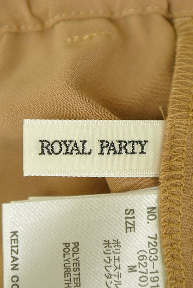 ROYAL PARTY(ロイヤルパーティ)の古着「センタープレステーパードパンツ(パンツ)」大画像6へ