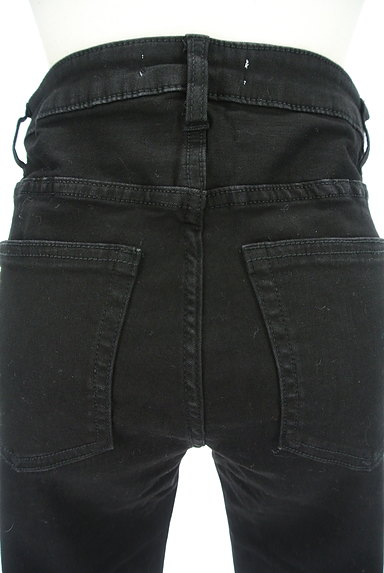 ROYAL PARTY(ロイヤルパーティ)の古着「ベーシック黒スキニーパンツ(デニムパンツ)」大画像5へ