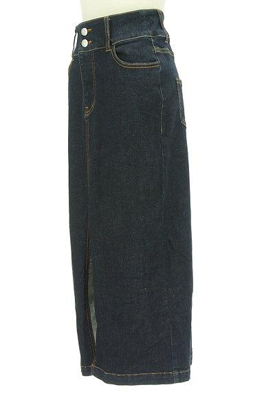 ROYAL PARTY(ロイヤルパーティ)の古着「スリットロングデニムスカート(ロングスカート・マキシスカート)」大画像3へ