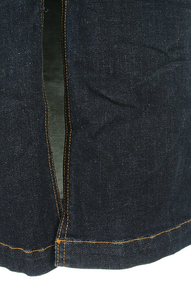 ROYAL PARTY(ロイヤルパーティ)の古着「スリットロングデニムスカート(ロングスカート・マキシスカート)」大画像5へ