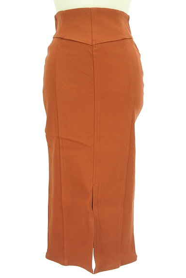 ROYAL PARTY(ロイヤルパーティ)の古着「裏毛ロングタイトカラースカート(ロングスカート・マキシスカート)」大画像1へ