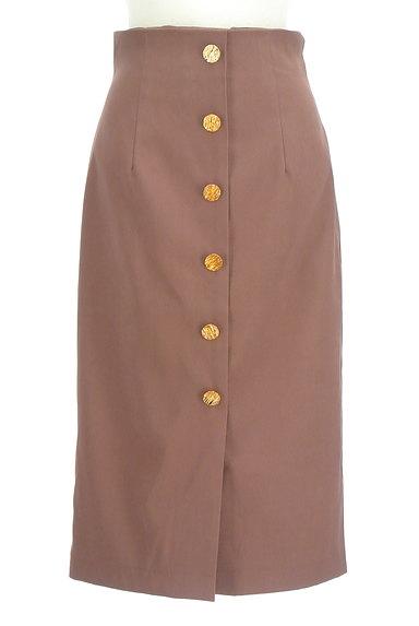 ROYAL PARTY(ロイヤルパーティ)の古着「フロントボタンタイトスカート(ロングスカート・マキシスカート)」大画像1へ