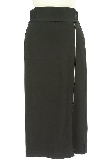 ROYAL PARTY(ロイヤルパーティ)の古着「ウエストリボンパイピングタイトスカート(ロングスカート・マキシスカート)」大画像5へ